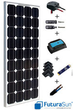 Kit panneau solaire 100W 12V pour camping car marque italienne (100 watts)