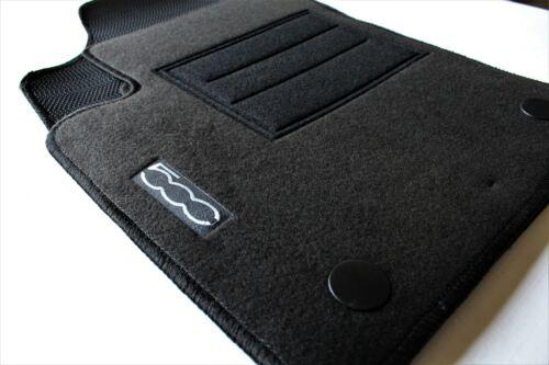 TAPPETI TAPPETI su Misura Fiat 500 /'07 Set Completo 4 Pezzi Moquette Zerbino