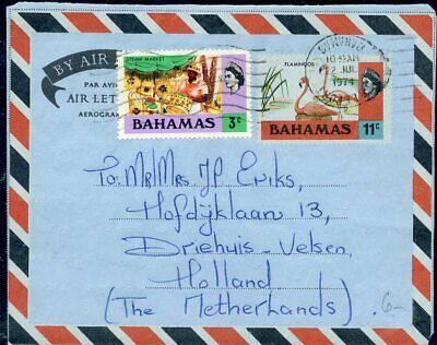 Erfinderisch 426529 Briefmarken Grenada Ga-aerogramm Mit Zf 1974 In Die Niederlande Exzellente QualitäT