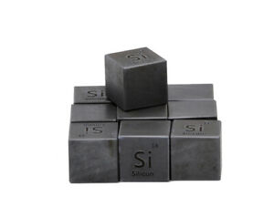 Beryllium Metal 10mm Density Cube 99.99/% Pure for Element Collection USA SHIP