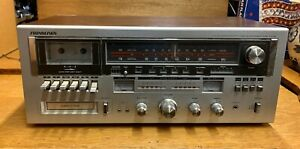 Sound-Design-5853-Cassette-Stereo-Receiver-8-Track-Player-AM-FM-Radio-Tested