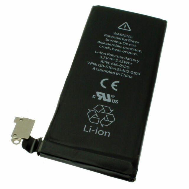 NEW REPLACEMENT HIGH CAPACITY BATTERY INTERNAL LI-ION FOR IPHONE 4 4G 1420mAh