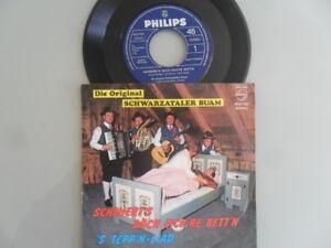 Original-Schwarzataler-Buam-Schmiert-039-s-doch-eich-039-re-Bett-039-n-7-Inch-Vinyl-Single