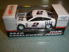 2017 BRAD KESELOWSKI #2 Miller Lite White 1/64 NASCAR DIECAST NEW  FREE SHIP