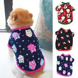 Pet-Cat-Puppy-Small-Dog-Short-Sleeve-Shirt-T-shirt-Vest-Coat-Dog-Clothes-Apparel