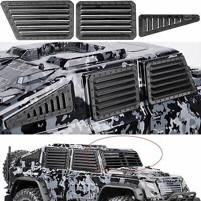 Pour Traxxas TRX-4 Unité Tactique 3 Pcs Tough Armor Avant fenêtre//Grill Guard