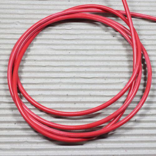 LEGION Bremsleitung für Scheibenbremse Leitung aus PVDF Kevlar Nylon rot