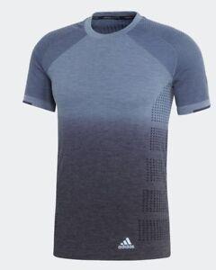 T £ Rrp Wol Dd Pknit Merk 60 Medium Blauw Nieuw shirt grijs Tee Adidas {m} M Running wAqYFAZx