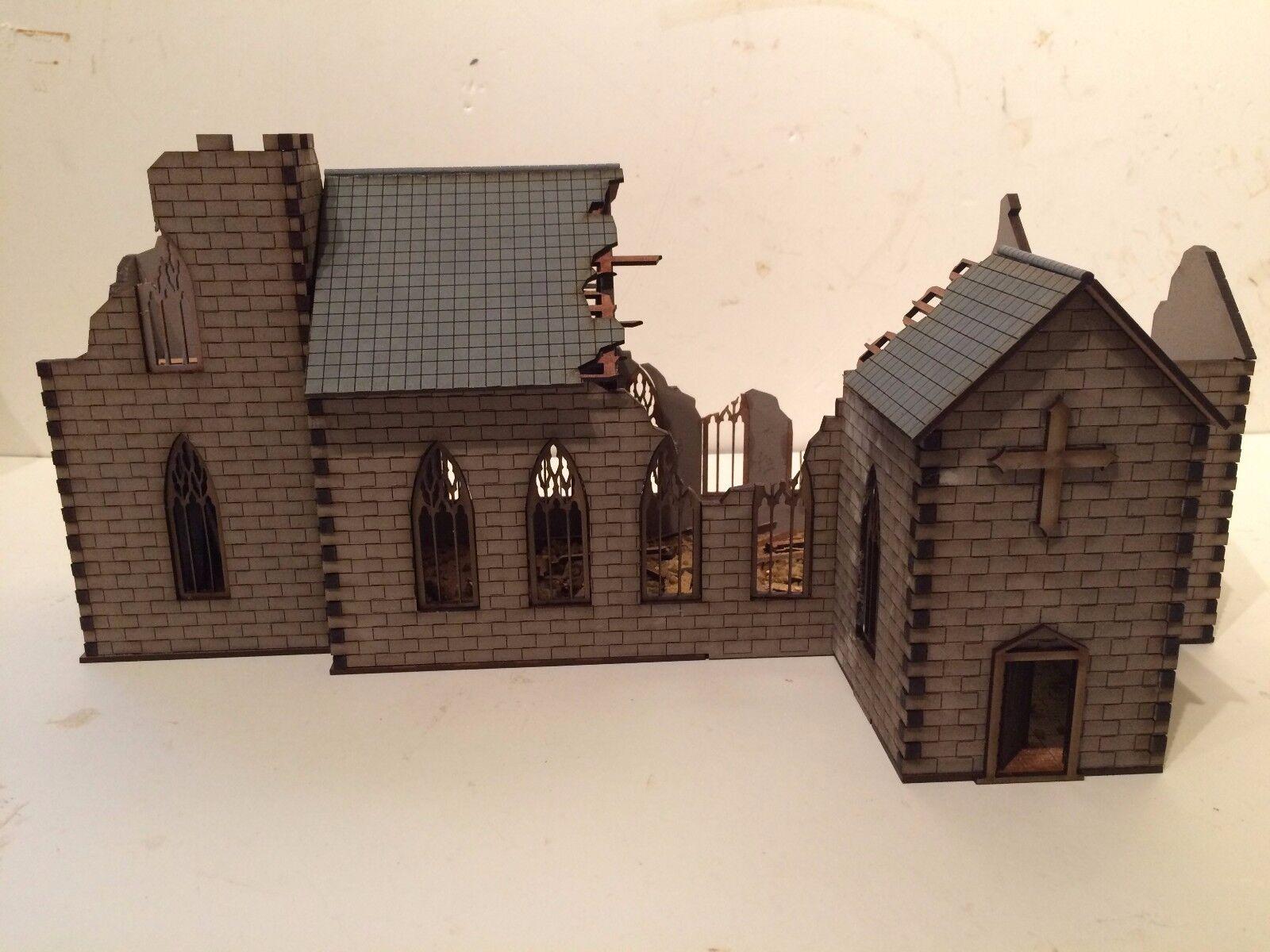 28mm ruiniert normannischen kirche kit