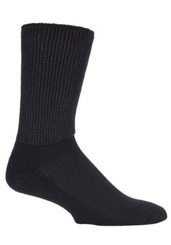 3 Pack Mens Ladies Extra Wide Non Elastic Diabetic Socks for Swollen Legs IOMI