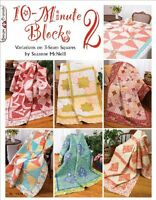 Design Originals Book, 10-minute Blocks 2 , New, Free Shipping on sale