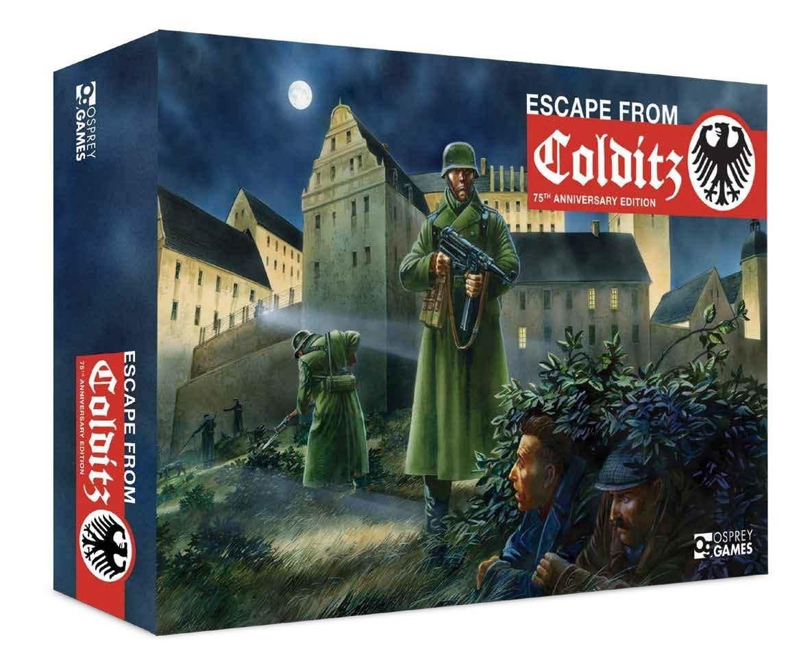 Escape     Colditz - Ed. 75° Anniversario Gioco da Tavolo NUOVO ENG 93bbde