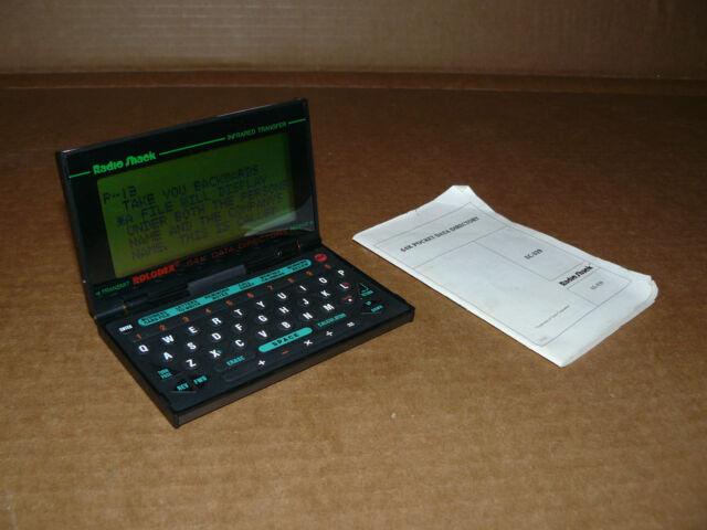 REFURBISHED Radio Shack EC-393 vintage PDA - 64K pocket data directory - ROLODEX