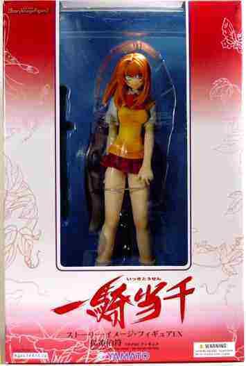 09 Hakufu Ikki Figura legendario Fighter Figura Battle Vixens Anime.