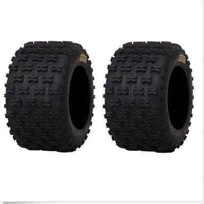 Pair of ITP Holeshot MXR6 ATV Tires Rear 18x10-8 (2) 18x10x8 18-10-8 HOLE SHOT