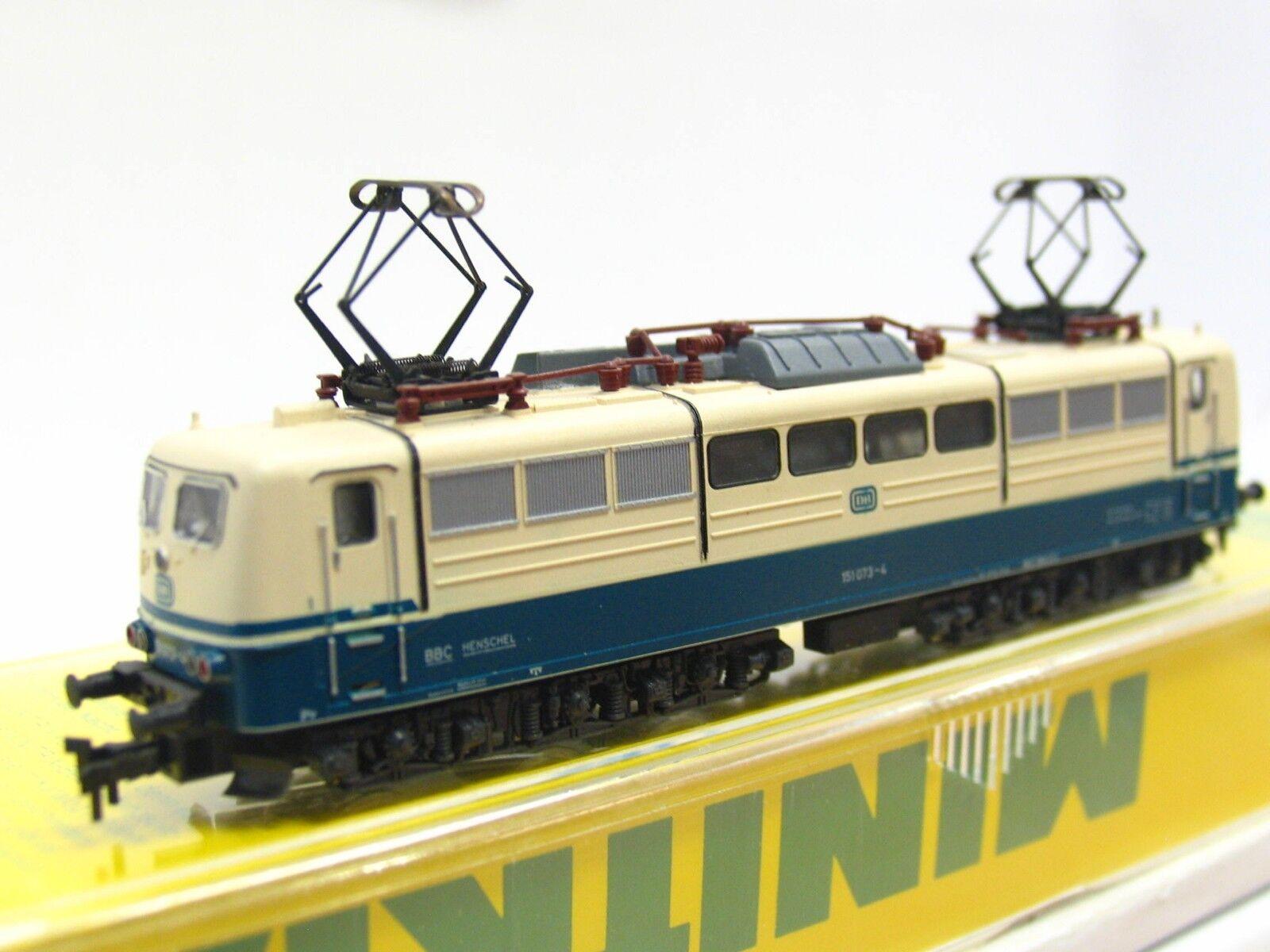 Minitrix N 12068 E-LOK BR 151 073-4 DB OP (v6478)