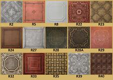 Tin-Look, Faux Ceiling Tiles 20x20  Different Colors