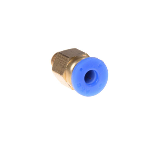 M6 Pneumatic Straight Fitting 4mm OD tubing M6 Reprap 3D Printer ^F CJBE
