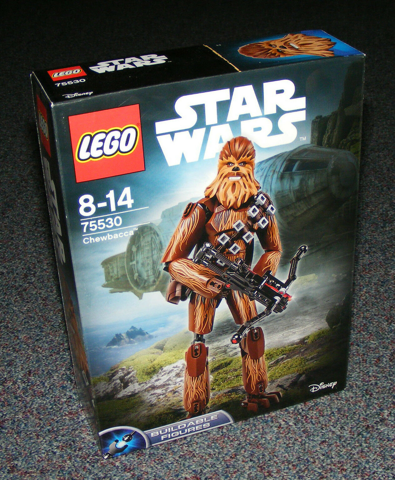 STAR WARS LEGO 75530 CHEWBACCA BUILDABLE FIGURE BRAND NEW SEALED