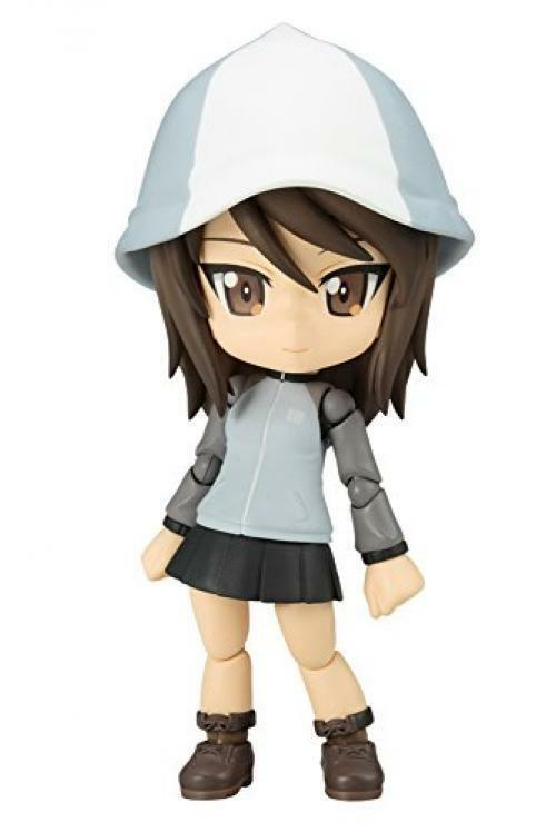 NEW Kotobukiya Cu-poche Girls und Panzer Mika Figure from Japan F/S