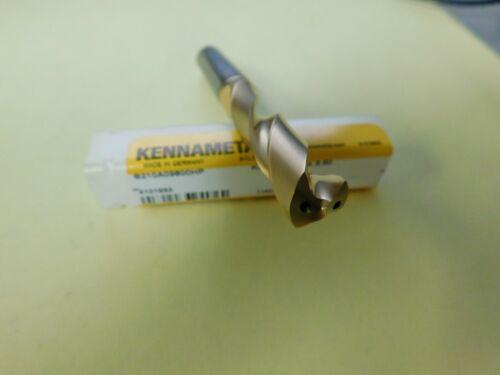 Kennametal 9.8mm 135° Spiral Fl  Carbide Screw Machine Drill Bit QTY 2  4101693
