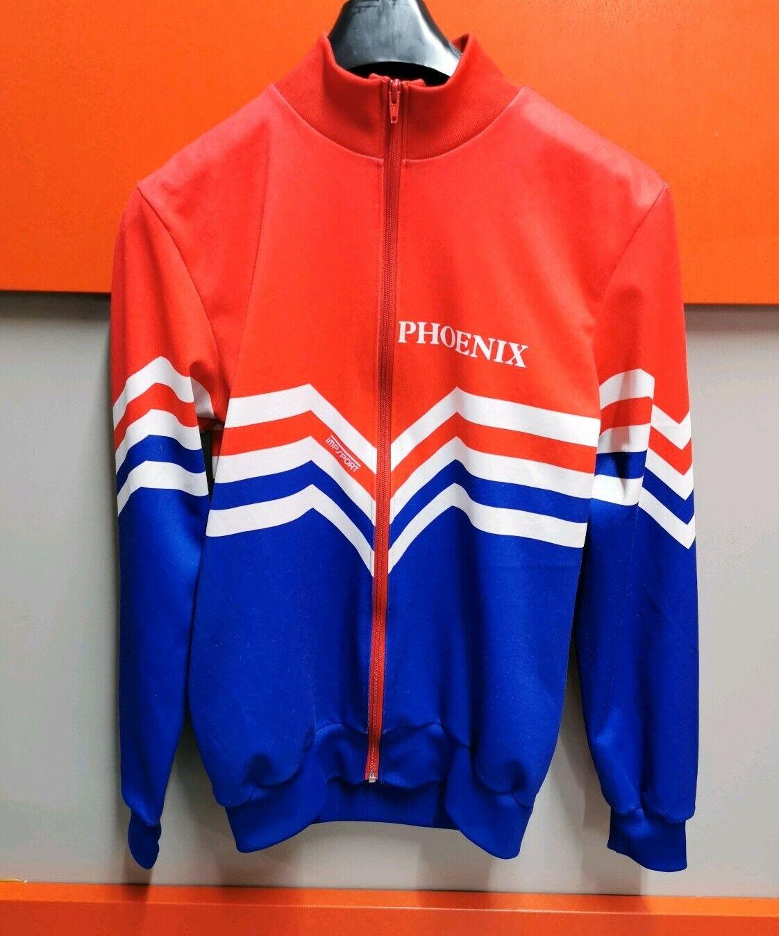 Vintage Retro Impsport Phoenix Cycling over Jacket 1980's Size Adult Medium