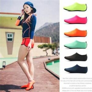 Skin-Water-Shoes-Beach-Socks-Men-Women-Aqua-Yoga-Exercise-Pool-Swim-Slip-On-Surf