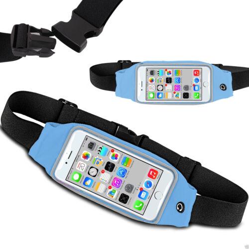 Huawei P20 Lite Sports Running Jogging Gym Waist Band Belt Pouch Case Holder