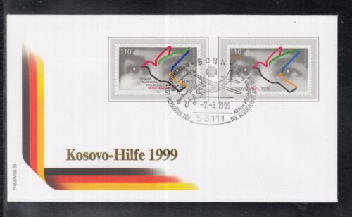 C 21 ) Germany Cover- Kosovo help in 1999 on Special Letter