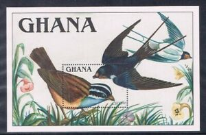 Ghana-MiNr-Block-148-postfrisch-MNH-Voegel-Voeg2273