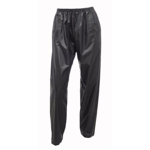 Regatta Pour Hommes//Femmes Stormbreak étanche Respirant Sur-pantalon noir