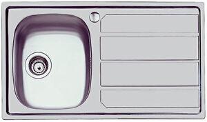 Lavello Cucina 1 Vasca Grande.Lavello Cucina Incasso 1vasca Destra O Sinistra