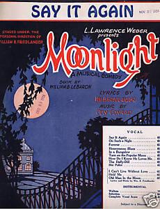 1923 - Moonlight - Say It Again