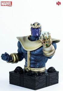 Marvel Thanos The Mad Titan - Buste Figurine Semic Ca.16cm Neuf (l)
