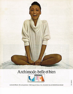 Other Breweriana Diplomatic Publicite Advertising 064 1978 Archimode Montagut Mode Pulls
