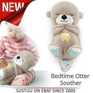 Fisher-price-Schlafenszeit-Otter-Kuscheln-Schnuller-Baby-039-s-Weich-Musical-Toy