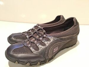 Skechers-Womens-Bikers-Athletic-Shoes-Size-8