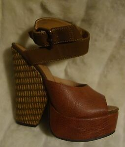 Gomax-Limited-Edition-Platform-Sandal-WEDGE-shoes-SZ-6-NEW