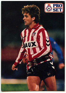 Gary Owers Sunderland FC #208 Pro Set Football 1991-2 Trade Card C364