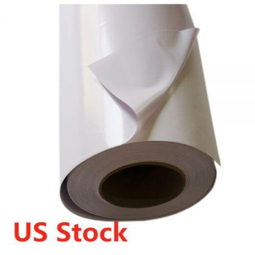 "US 54/"" X 150/' Clear Glue Glossy Self-adhesive Vinyl Film Vehicle Wrap 140gsm"