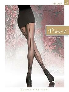 Back-Seamed-Tights-By-Fiore-034-Vellana-034-40-den-Patterned-Tights
