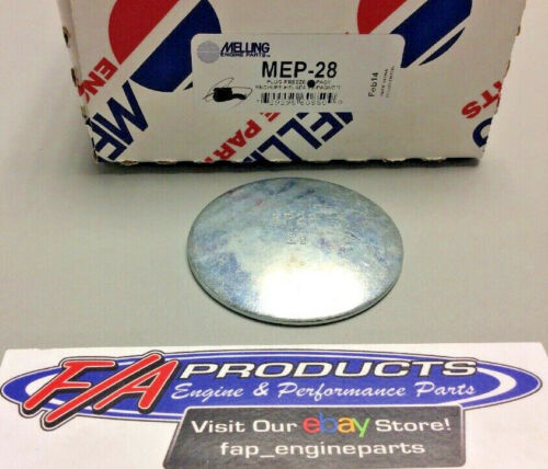 """Melling MEP-28 Steel 2-1//2/"""" Engine Freeze Out Expansion Convex Disc Type Plugs"""
