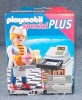 Playmobil Special Plus Figure Set 5292 Waitress With Cash Register