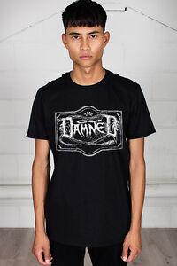 Official-The-Damned-Logo-T-Shirt-Unisex-Horror-Film-Film-Scream-Frankendamned