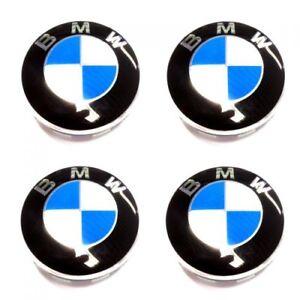 ORIGINAL-BMW-Couvercle-de-moyeu-Enjoliveur-avec-bordure-chromee