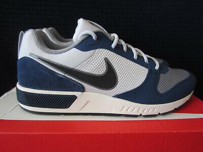 NIKE Nightgazer Herren Low Sneaker Blau Schuhe, Größe:43