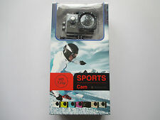 720p HD Sport Camera 30 Meter Waterproof Includes All Accessories