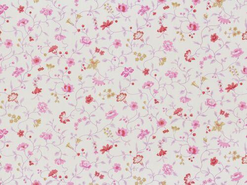 Vintage Diary papier peint Rapidement Textile 255194 fleurs lianes Blanc Lilas 2,77 €//1qm