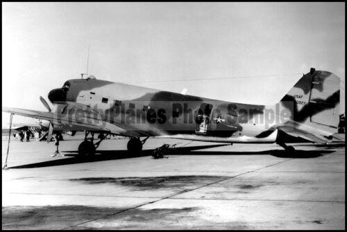 USAF Douglas AC-47D Spooky Gunship 1st ACS 8x12 C-47 Aircraft Photos