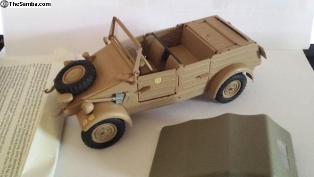 Vintage  VW82 KUBELWAGEN Kuebelwagen 1 24 KADEN GONIO WW2 NOS Africa  voici la dernière